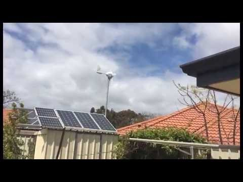 Trying a micro grid tie inverter with a Wind Turbine