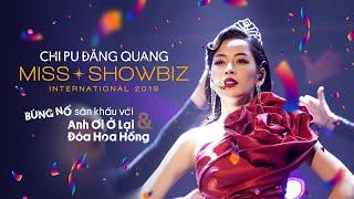 Chi Pu | Chi Pu đăng quang Miss Showbiz International,tưng bừng hát nhảy Anh Ơi Ở Lại - Đoá Hoa Hồng