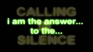 chelsea grin calling in silence (lyrics)