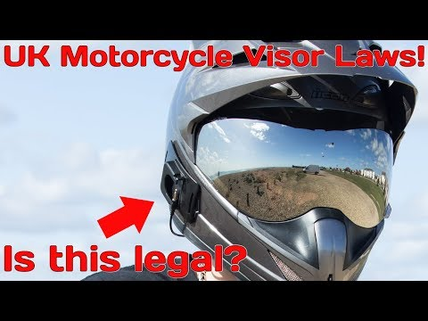 Uk Motorcycle Visor Law! What is and isn't legal?