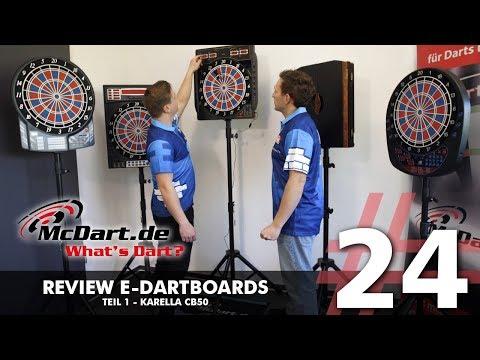 What's Dart? #24 - E-Dartboards - Karella CB50 [Review]