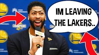 Anthony Davis Is Signing to Golden State Warriors & Joining Steph Curry...
