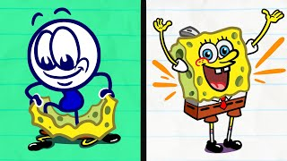 """""""Fancy See, Fancy Do""""   Pencilmation Kids Compilation   Animated Cartoons"""