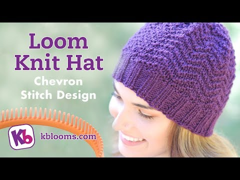How To Loom Knit A Baby Hat With Ears Diy Tutorial