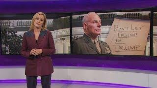 "General Kelly v. ""Honorable"" Omarosa   September 20, 2017 Act 2    Full Frontal on TBS"