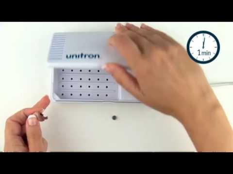 Usar el Kit Unitron CleanDry