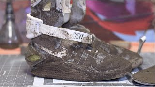 Cleaning The Dirtiest Nike's Ever! $17,500 Air Mags Back To New!