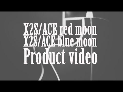 Elektroakustinė gitara Baton Rouge X2S/ACE blue moon