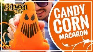 DISNEYLAND'S HALLOWEEN TIME TREATS 2017! CANDY CONE MACAROON