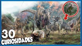 30 Curiosidades de JURASSIC WORLD 2 (FALLEN KINGDOM)