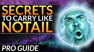 Why NOTAIL is a BROKEN Support: PRO Tips You MUST KNOW for IO / Wisp - Dota 2 Tricks Guide