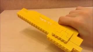 Игрушки из старого Лего. Пистолет из лего. Лот№1