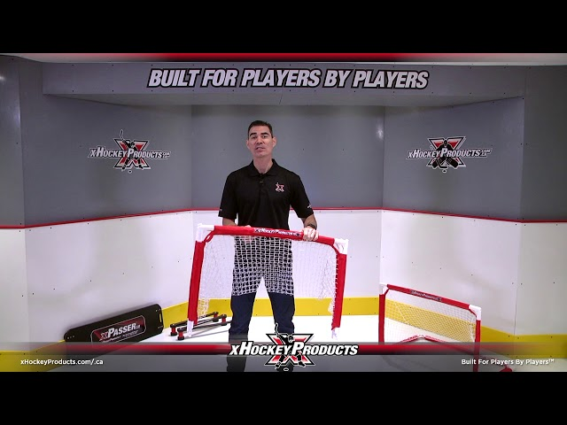 xHockeyProducts Folding Mini Goal