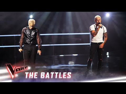 The Battles: Chriddy Black v Jack Vidgen 'Say Something' | The Voice Australia 2019