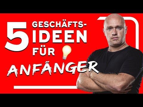 , title : '5 GESCHÄFTSIDEEN FÜR ANFÄNGER, die IMMER FUNKTIONIEREN