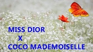 Miss dior edp X coco mademoiselle chanel edp