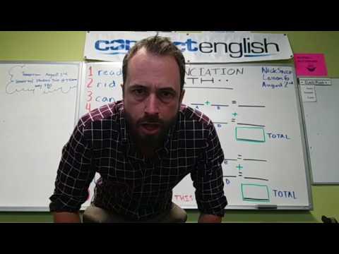 Connect English Pronunciation Math, Volume 3 - Mission Valley Campus