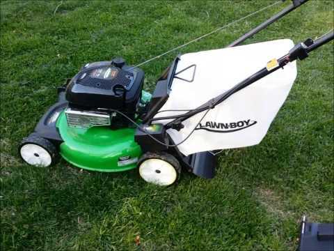Lawn-Boy Self-Propelled Lawn Mower Review