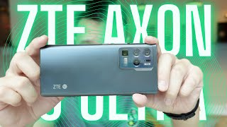 ZTE Axon 30 Ultra 5G Unboxing & Hands-On
