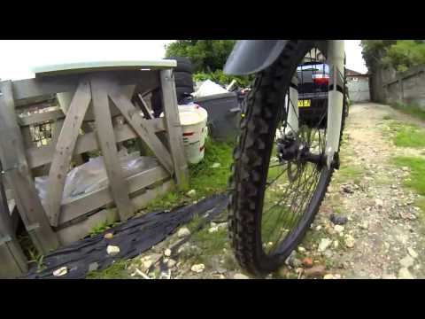 Shin/leg mount Gopro test