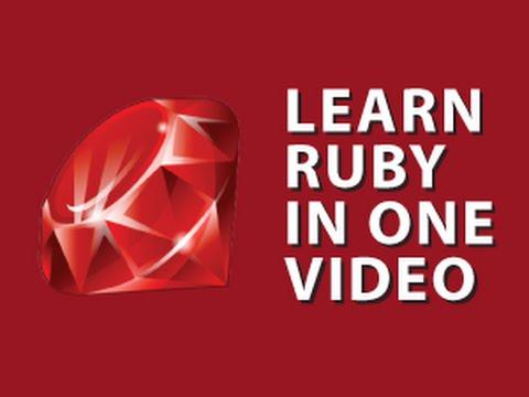 Derek Banas Ruby Programming Tutorial