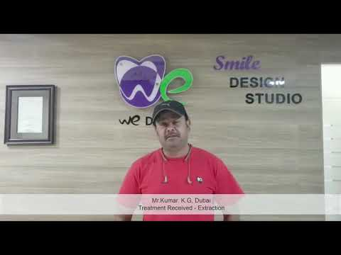 dental treatment testimonial about the best dental clinic in coimbatore