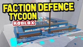 ROBLOX FACTION DEFENCE TYCOON
