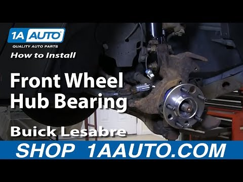 How To Replace Front Wheel Hub & Bearing 92-99 Buick LeSabre