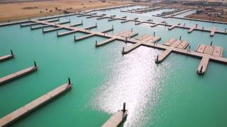 preview picture of video 'Opening of the first marina at Sabah Al-Ahmad Sea City'
