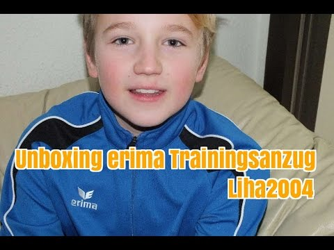 Unboxing erima Trainings-Outfit