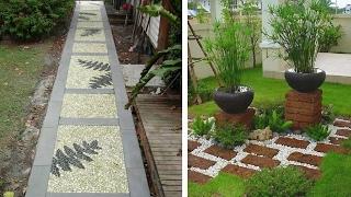 Садовые дорожки на даче видео