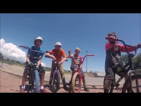 A day at Canon City Skatepark!!!