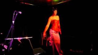 Evy Maroon Burlesque Kung Fu Fighting HK Aug 2010