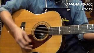【オットリーヤ動画】YAMAHA FG-700(昭和48年製)