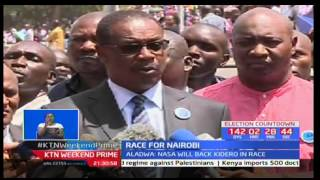 Nairobi Governor Evans Kidero hints at his re-election bid under the NASA flagship