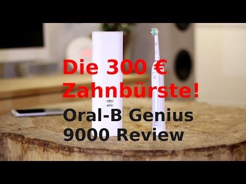 Oral-B Genius 9000 Review mit 300€ die wahrscheinlich teuerste Zahnbürste der Welt!