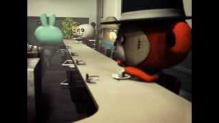 "Michael Jackson""Beat It"" Animation"