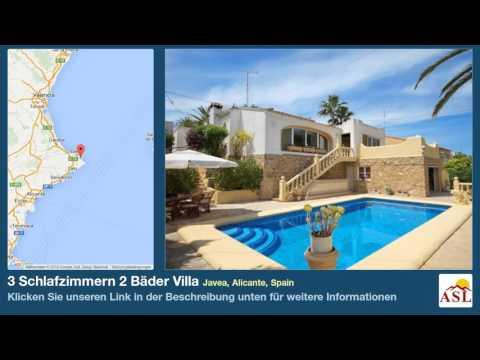 3 Schlafzimmern 2 Bäder Villa zu verkaufen in Javea, Alicante, Spain