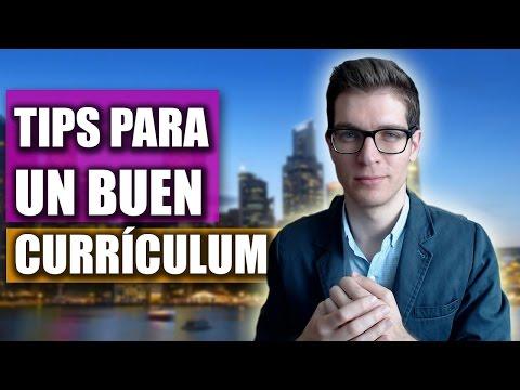 Cómo Hacer Un Buen Curriculum: Tips Para Llamar La Atención  miniatura