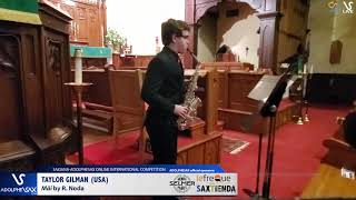 Tylor GILMAN plays Mái by R. Noda #adolphesax
