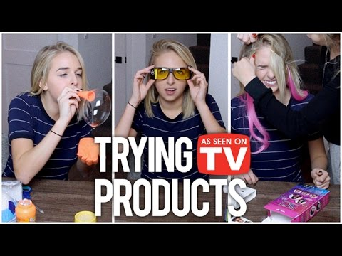TRYING AS SEEN ON TV PRODUCTS