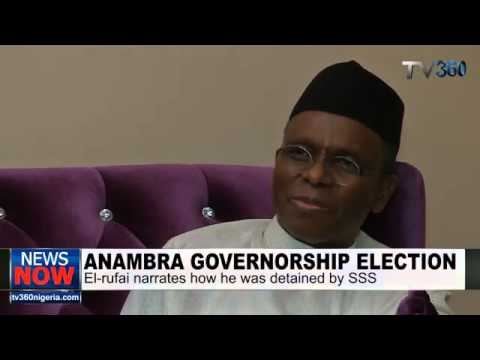 ANAMBRA ELECTION  THOSE WHO DETAINED ME ARE SAVAGES   EL RUFAI