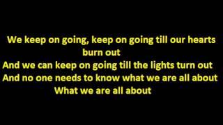 Taio Cruz - Do What You Like  Lyrics  HD