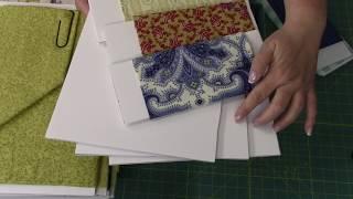 Foam Board Fabric Storage Ideas. Three Sizes!