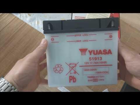 Yuasa 51913 - BMW R1150R Batterie - BMW R1150R battery - Yuasa 51913 review