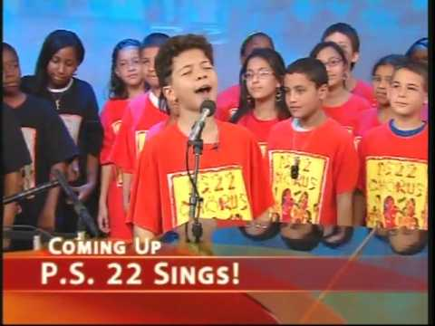 PS22 Chorus - ABC Good Morning America - Video 3