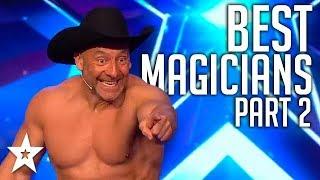 BEST MAGICIAN Auditions On Britain's Got Talent 2019! | Part 2 | Got Talent Global