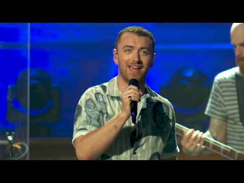 Sam Smith - I'm Not The Only One (Live In Melbourne) (видео)