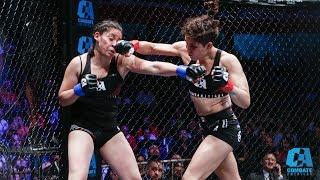 MMA | Combate Guadalajara: México vs Spain | Erendira Ordoñez vs Paulina Vargas