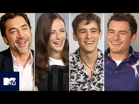 Pirates Of The Caribbean: Salazar's Revenge Cast Reveal Funniest Moments ⚓ | MTV